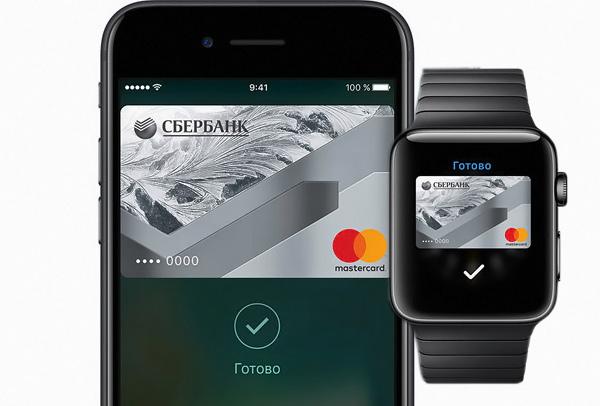 Использование Apple Pay на Apple Watch
